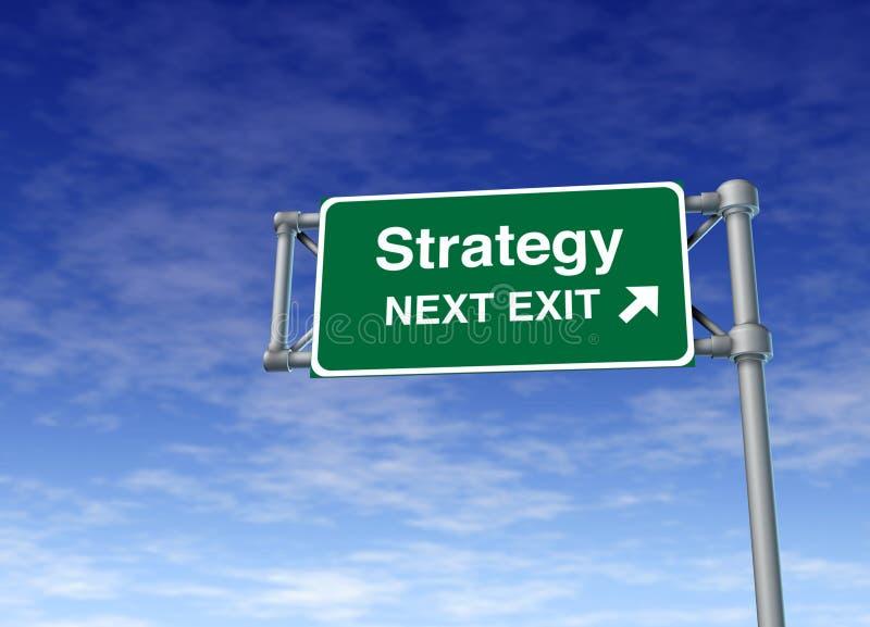 De planning van de strategie marketing plan bedrijfssymbool r stock afbeeldingen