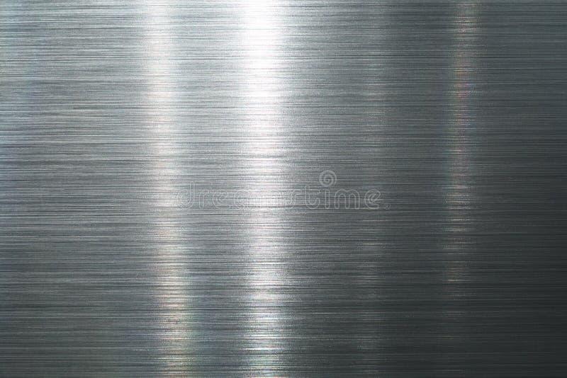 De plaque métallique balayé images stock