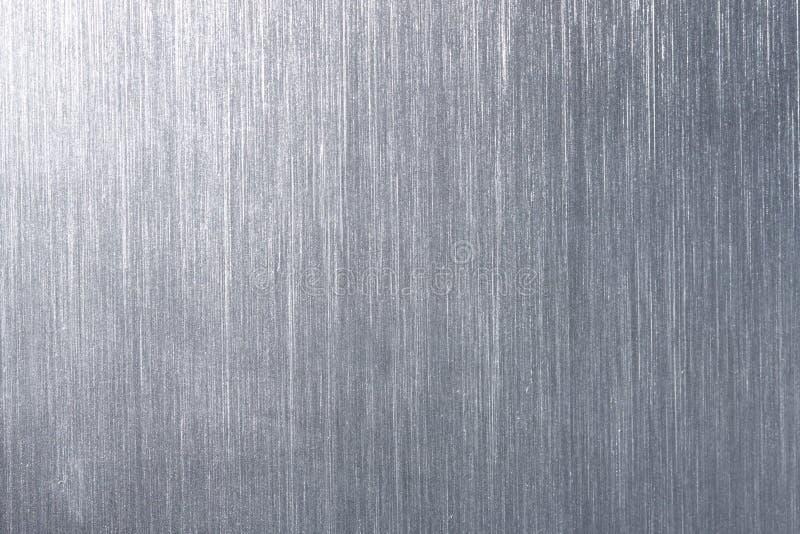 de plaque métallique balayé image stock