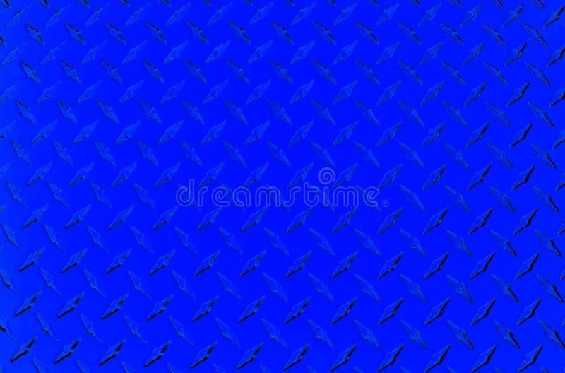 De plaque métallique bleu illustration stock