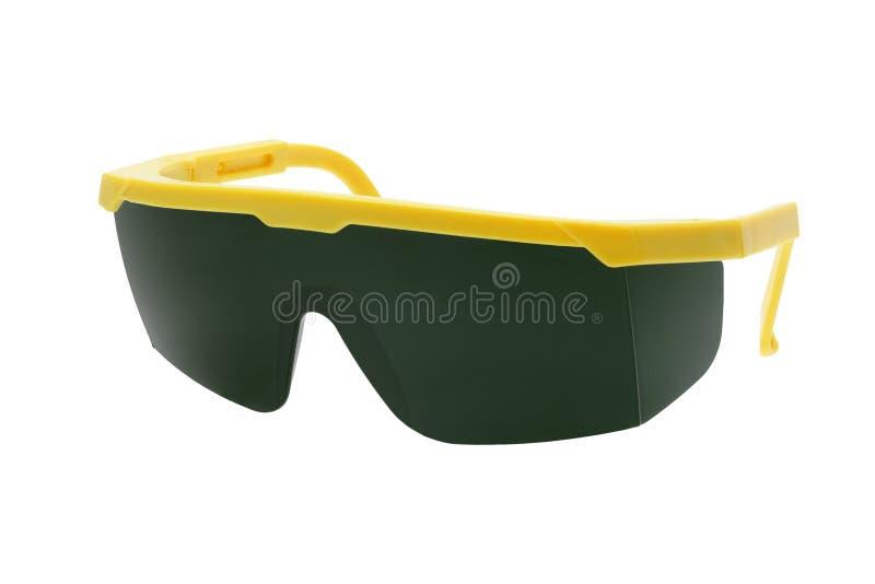 De plastic Beschermende brillen van de Veiligheid royalty-vrije stock foto
