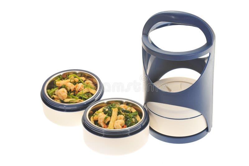 De plastic Carrier van het Voedsel, Tiffin royalty-vrije stock foto