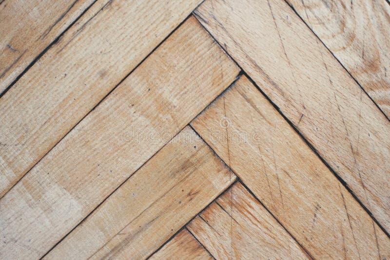 De plattelander verontrustte houten vloer royalty-vrije stock foto