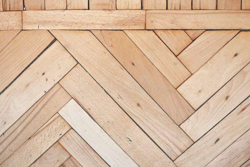 De plattelander verontrustte houten vloer stock afbeelding