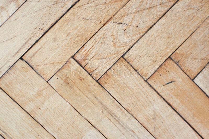 De plattelander verontrustte houten vloer stock foto