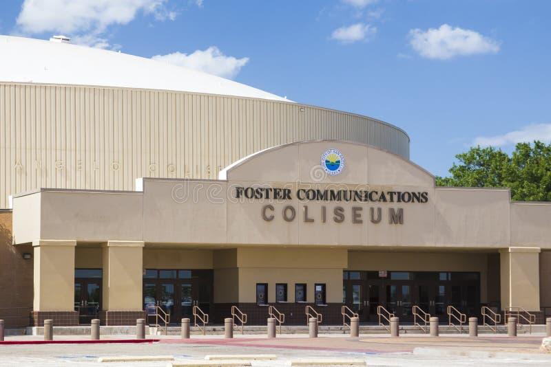 De Pleegmededelingen Coliseum stock foto