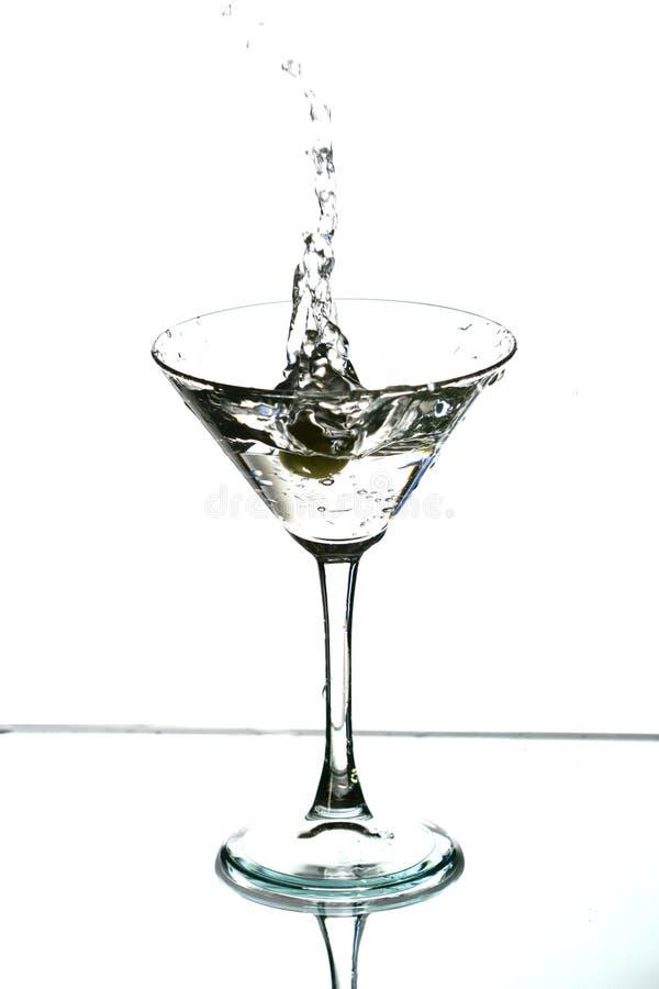 De plons van de alcohol royalty-vrije stock afbeeldingen