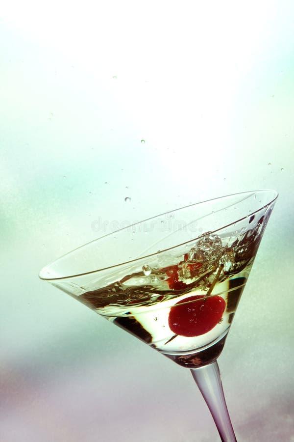 De plons van de cocktail stock afbeelding