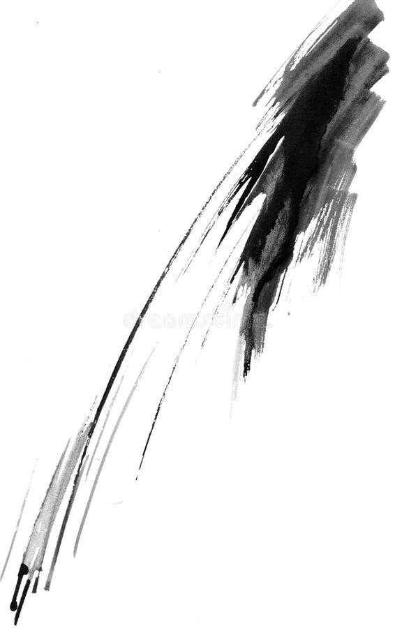 De plons van de inkt royalty-vrije illustratie