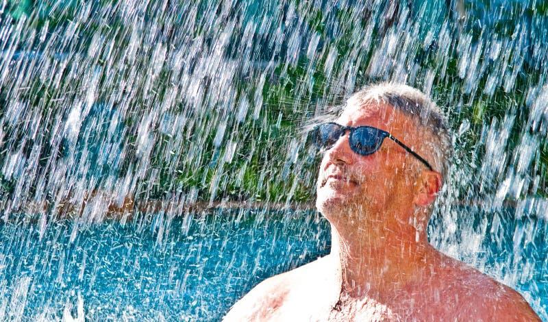 De Plons van de zomer stock fotografie