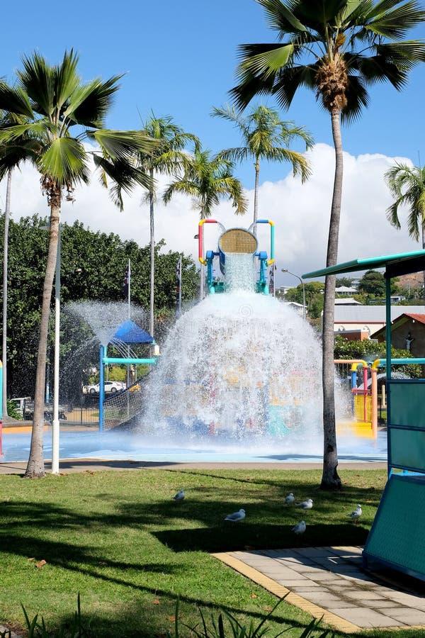 De plons van het Townsvillewater royalty-vrije stock fotografie
