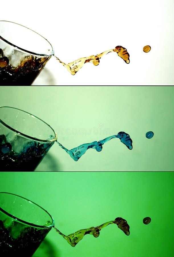De plons van het water [3] royalty-vrije stock foto
