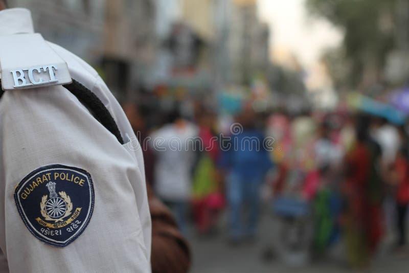 De Politie van Gujarat royalty-vrije stock afbeeldingen