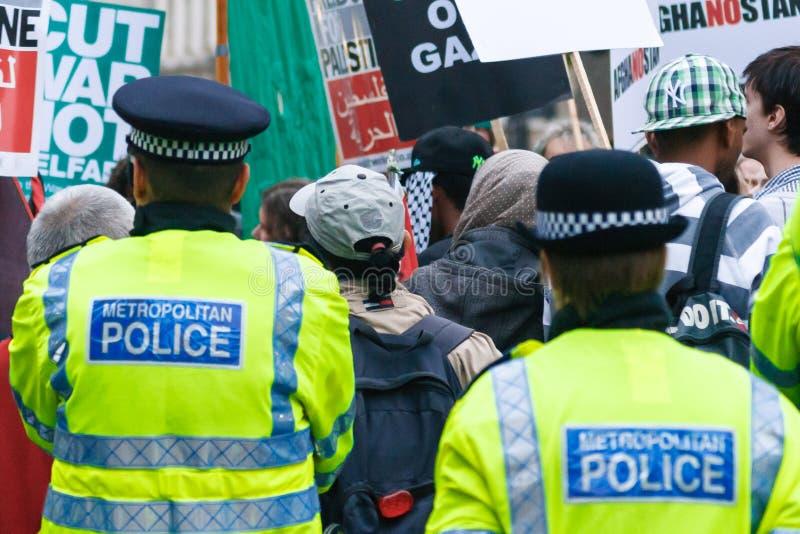De Politie van Londen stock afbeelding
