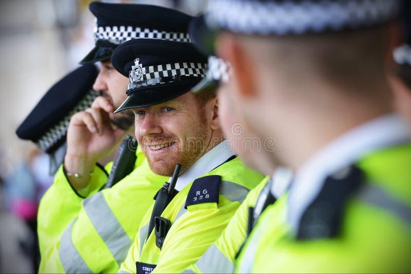 De Politie van Londen stock fotografie