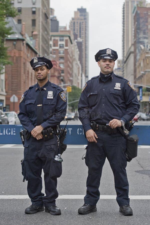 De politie van New York royalty-vrije stock afbeeldingen