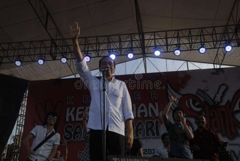 DE POLITIEK VAN INDONESIË PRESIDENT DEFAMATION WET stock fotografie