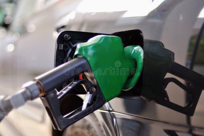 De Pomp van de benzine stock foto's