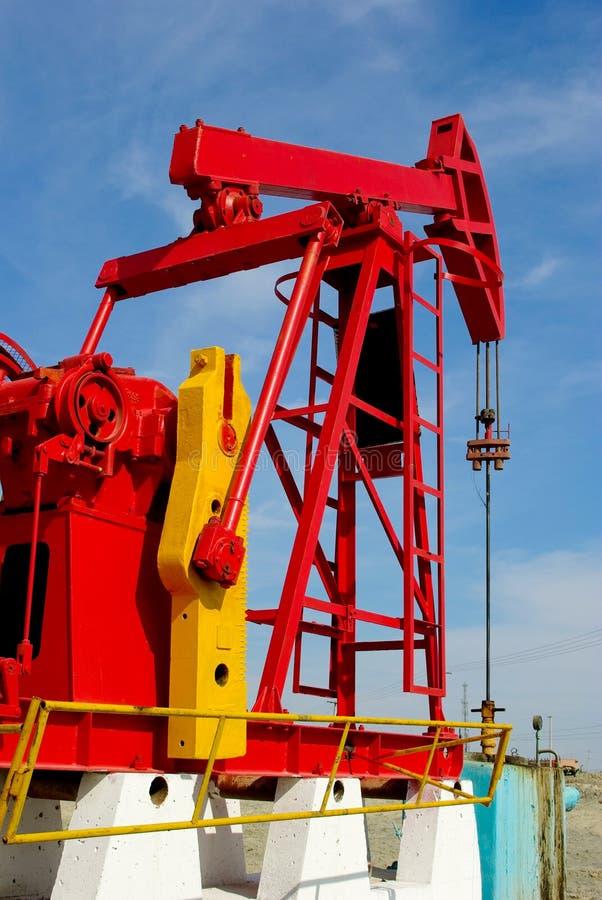 De pomp van de olie royalty-vrije stock afbeelding