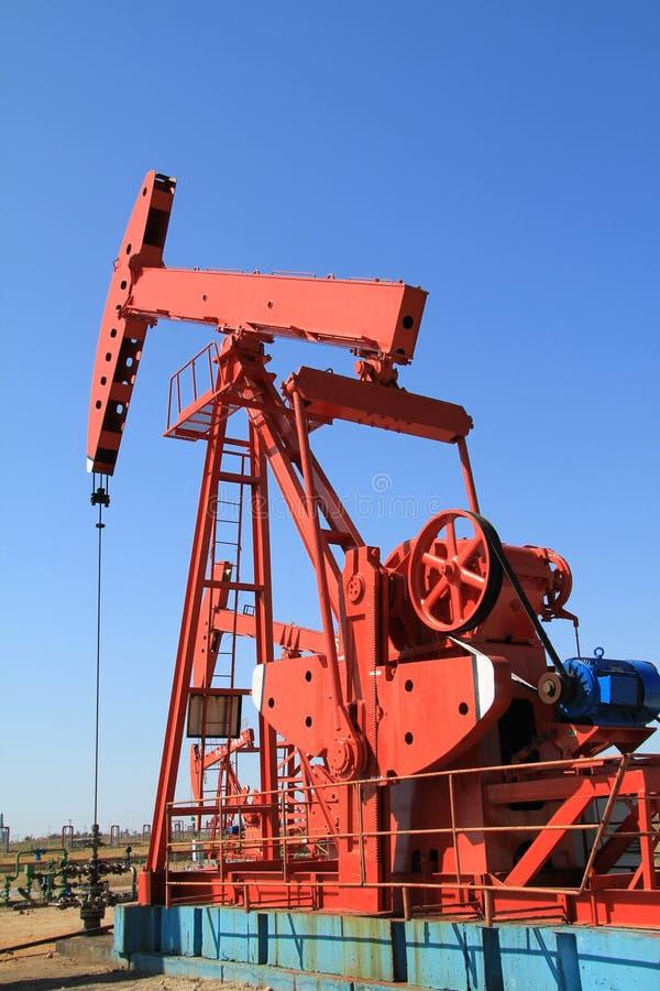 De pomphefboom van de olie royalty-vrije stock foto