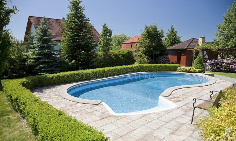 De pool stock afbeelding