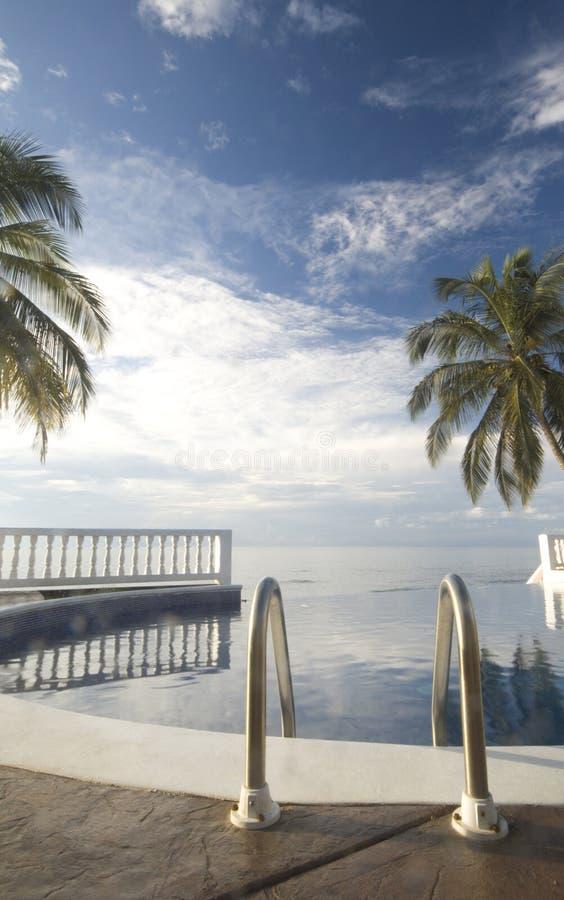 De pool Nicaragua van de oneindigheid royalty-vrije stock foto