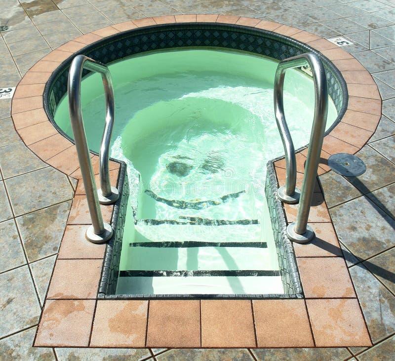 De Pool van de duik royalty-vrije stock afbeeldingen