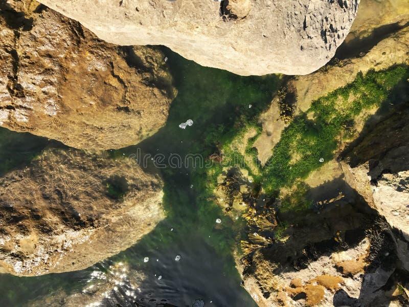 De Pool van de rots stock afbeeldingen