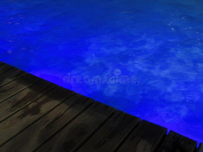 De pool van het water royalty-vrije stock foto