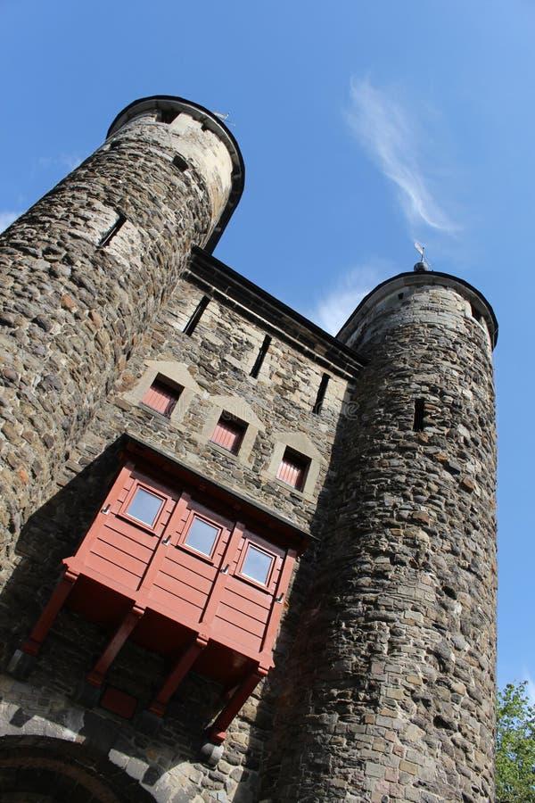 De Poort Helpoort in de zonnige de zomerdag, Maastricht, Nederland, Limburg van de hel royalty-vrije stock fotografie
