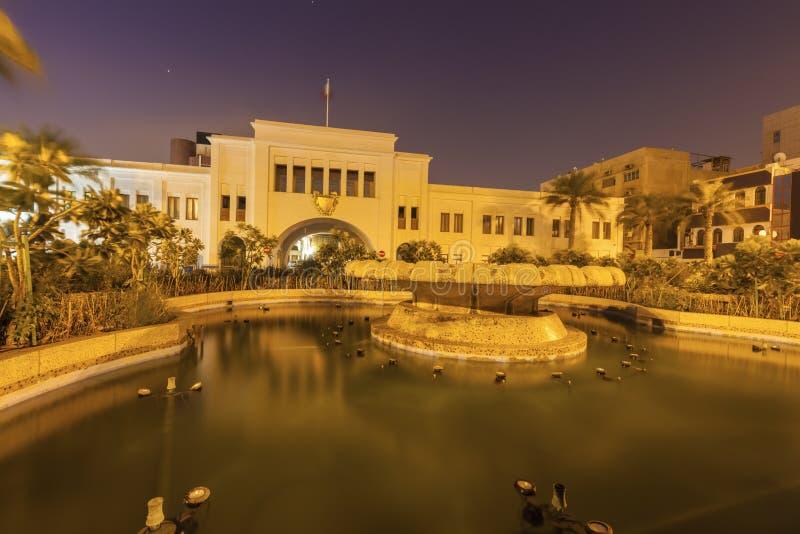 De Poort van Bahrein in Manama stock fotografie