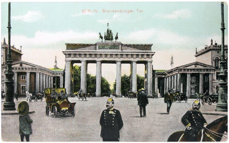 De Poort van Brandenburg royalty-vrije stock fotografie