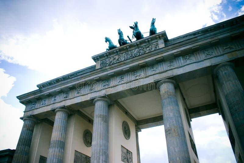 De poort van Brandenburg, Berlijn royalty-vrije stock foto
