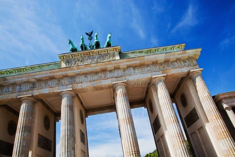 De Poort van Brandenburg, Berlijn, Duitsland royalty-vrije stock afbeelding