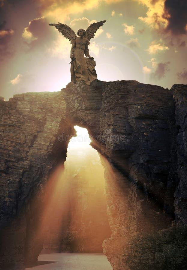 De poort van de hemel stock afbeeldingen