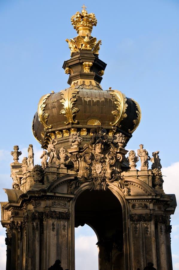 De Poort van de kroon royalty-vrije stock afbeelding