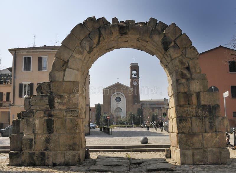 De Poort van de stad royalty-vrije stock afbeelding