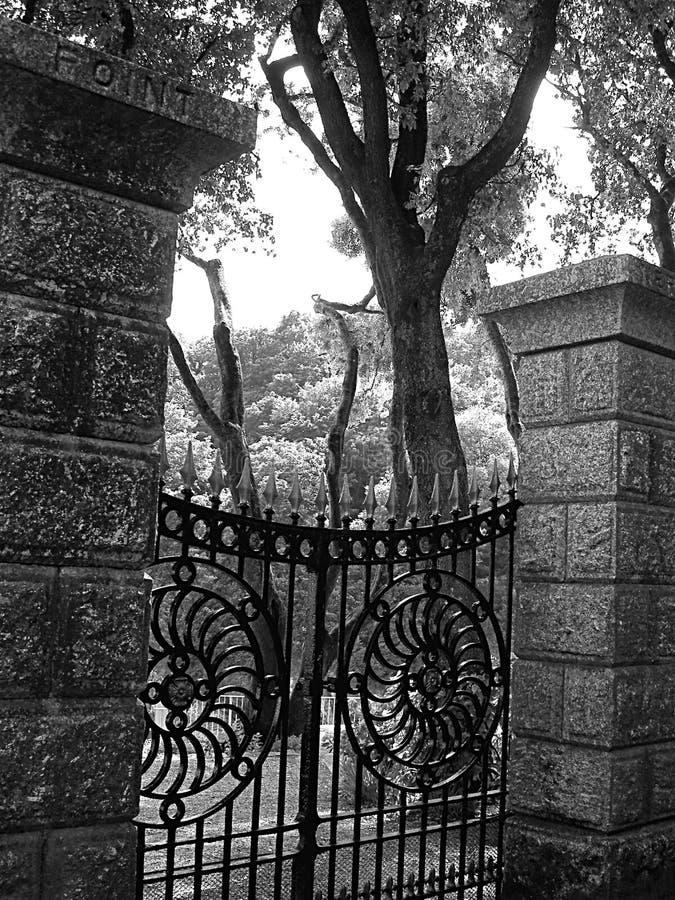 De Poort van de tuin