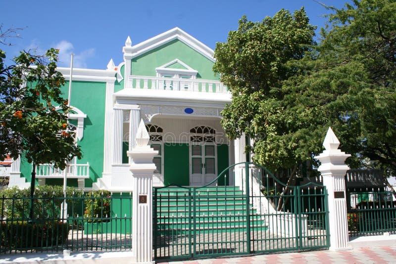 De Poort van de Tuin van het huis stock fotografie