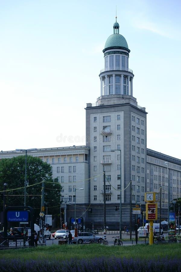 De Poort van Frankfurt royalty-vrije stock afbeelding