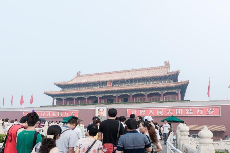 De poort van Hemelse Vrede stock afbeelding
