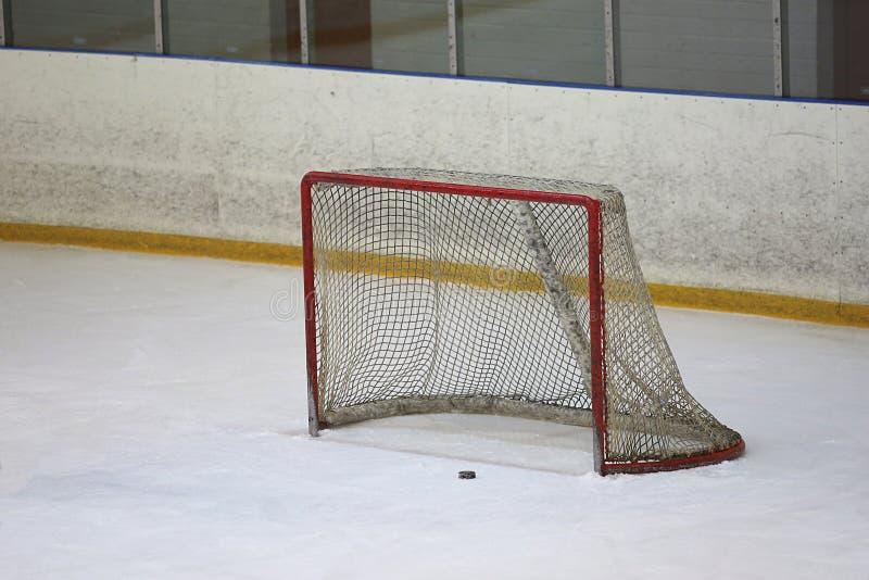 De poort van het Emtyijshockey royalty-vrije stock afbeeldingen