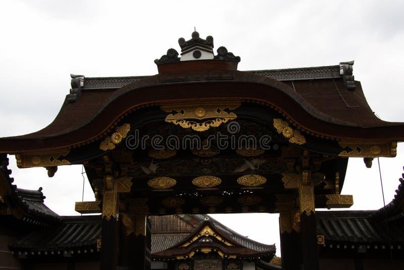 De Poort van het Nijokasteel royalty-vrije stock foto