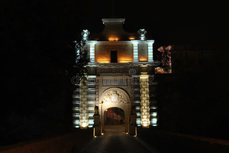 De Poort van Mdina stock foto
