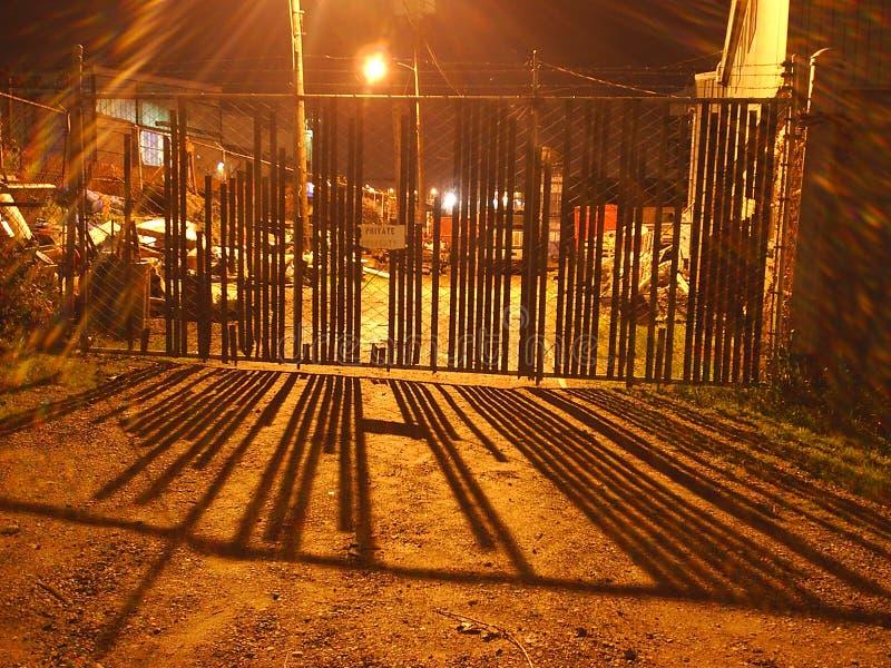 De Poort van Nightin stock afbeeldingen