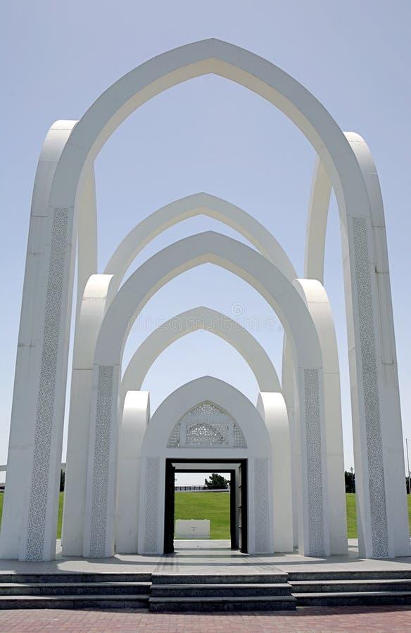 De Poort van Rumailah stock afbeeldingen