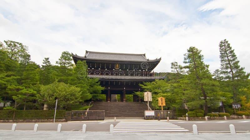 De Poort van Sanmon van chion-binnen, Japan royalty-vrije stock afbeeldingen