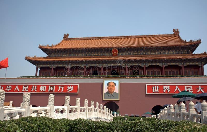 De Poort van Tiananmen, Peking, China royalty-vrije stock foto