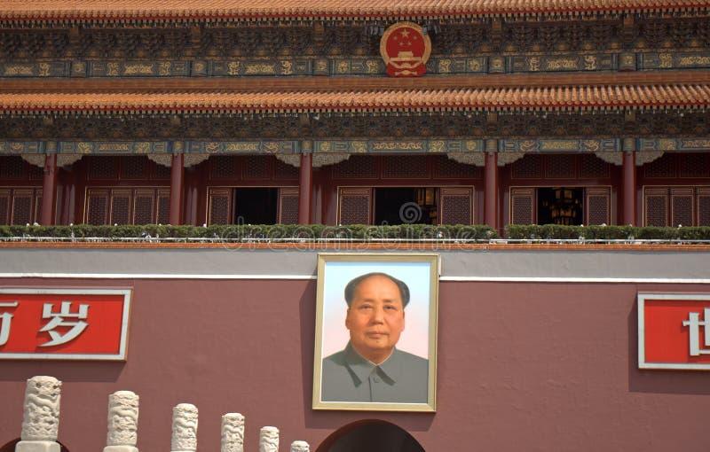 De Poort van Tiananmen, Peking, China royalty-vrije stock fotografie