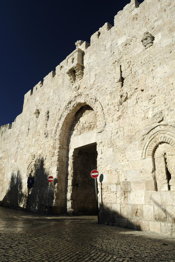 De Poort van Zion, Jeruzalem royalty-vrije stock afbeeldingen